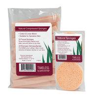 Compressed Sponges with Free Natural Sponge
