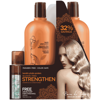 Keratin Phyto Shampoo & Conditioner with Infinite Spray