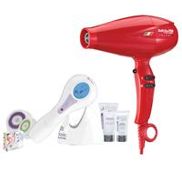 Babyliss Pro Red V1 Ferrari Dryer w/Hydrasonic Cleansing