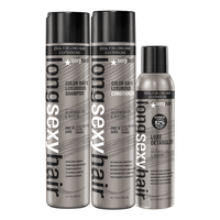 Long Sexy Hair Trio - Shampoo, Conditioner & Detangler