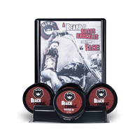 Black Cognac Beard Balm Display with tester  - 7 count