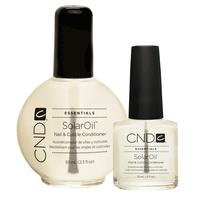 Solar Oil Nail & Cuticle Treatment 2.3 oz & .5 oz Duo