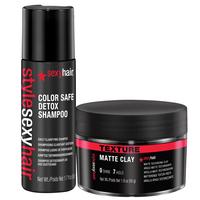 Style Sexy Control Maniac Styling Wax w/ Detox Shampoo