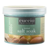Artisan Shea & Vetiver Scentual Salt Soak