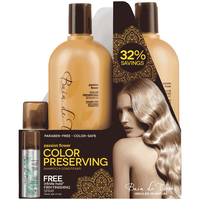 Passion Flower Shampoo & Conditioner with Infinite Spray