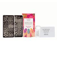 Nail Art Stamping Kit   Flirty Florals
