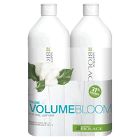 Biolage VolumeBloom Shampoo & Conditioner Liter Duo