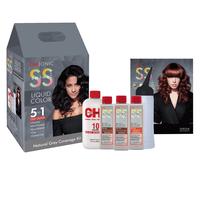 CHI Liquid Shine Shades Grey Coverage Kit