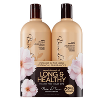 Sweet Almond Shampoo & Conditioner Liter Duo
