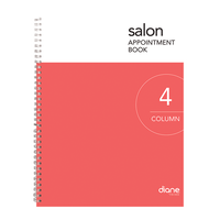 Appointment Book - 4 Column