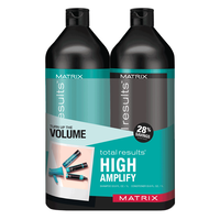 Total Results High Amplify Shampoo & Conditioner Liter Duo