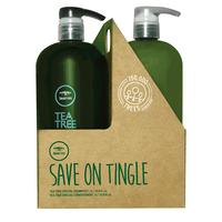 Tea Tree Shampoo & Conditioner Liter Duo