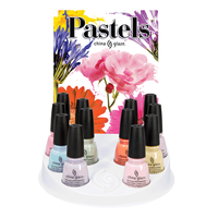 Pastels Collection 12 Piece Display
