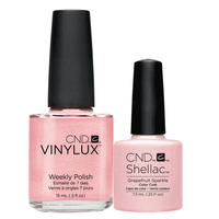 Shellac/Vinylux - Grapefruit Sparkle Duo
