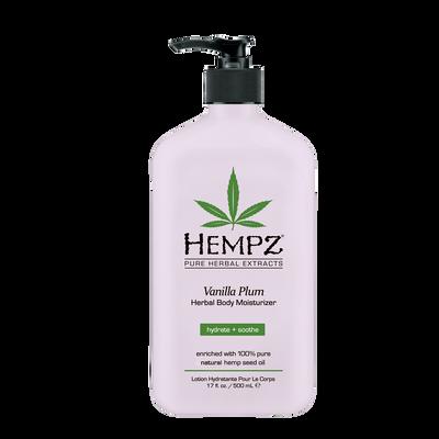 Vanilla Plum Herbal Body Moisturizer