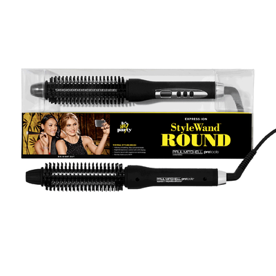 Express Ion Style Wand Round Thermal Styling Brush
