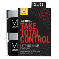 Mitch Matterial Strong Hold Styling Clay Duo