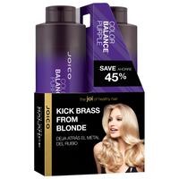 Color Balance Purple Shampoo & Conditioner Liter Duo