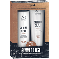 Sterling Silver Shampoo & Conditioner Duo