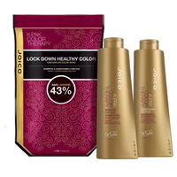 K-PAK Color Therapy Shampoo & Conditioner Liter Duo