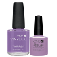 Shellac/Vinylux - Lilac Longing Duo