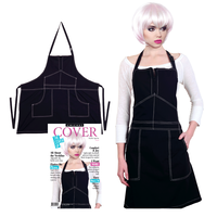 Stylist Work Apron - Black