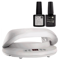 Shellac UV Base & Express5 Top Coat Duo with LED Light