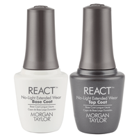 Half Off React Top Coat with Extended Wear Base Coat