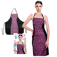 Hot Pink Cheetah Slimming Apron