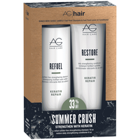 Keratin Shampoo & Conditioner Duo