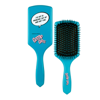 Gossip Girls™ Teal Paddle Brush: Ive Got 99 Problems