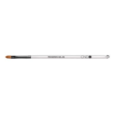 ProSeries Gel Flat Oval Brush, #6