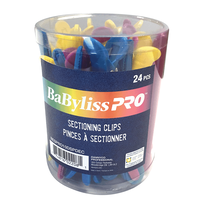 BaByliss Pro Sectioning Clips - 24 Pack