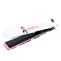 Avanti 1 Inch Nano-Tourmaline and Nano-Ceramic Plaid Flat Iron