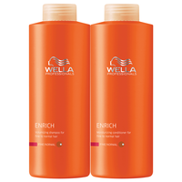 Enrich - Shampoo & Conditioner for Fine Hair Liter Duo