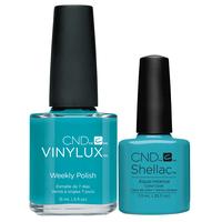 Shellac/Vinylux - Aqua Instance Duo