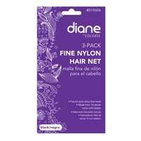 Nylon Black Hair Net - 3 pack