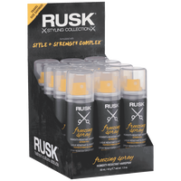Rusk Freezing Spray 12 Piece Display
