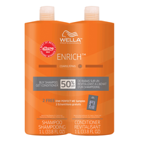 Enrich Shampoo & Conditioner Liter Duo - Course Hair