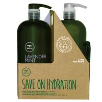 Lavender Mint Shampoo & Conditioner Liter Duo