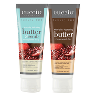 Pomegranate & Fig Butter & Scrub with Butter Blend