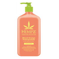 Blood Orange Pomegranate Herbal Body Moisturizer