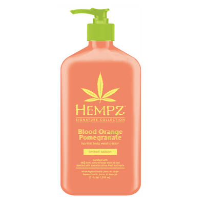 Blood Orange Pomegranate Herbal Body Moisturizer