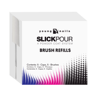 Slick Pour Replacement Brushes - 5 count