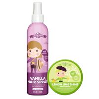 Lemon Lime Shine Stick with Vanilla Hairspray