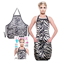 Zebra Salon Apron