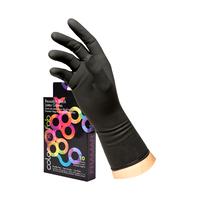 Latex Reusable Gloves Medium - 10 packj