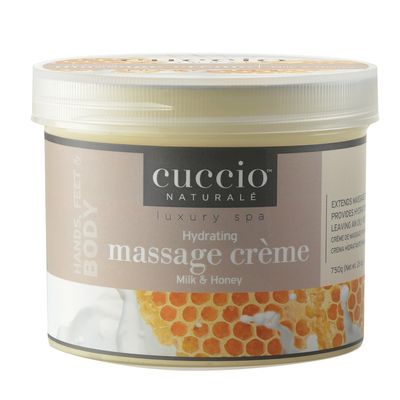 Cuccio Hydrating Massage Creme - Milk & Honey