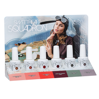 Gelish Sweet Squadron - 6 piece counter display
