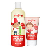 Apple 2-in-1 Shampoo/Conditioner with Firm Hold Hair Gel